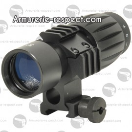 Magnifier SWISS ARMS Zoom X3 pour point rouge