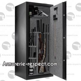 Coffre fort Buffalo pour 24 armes 150x64x55 avec code