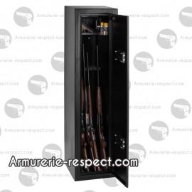 Armoire forte à clef Buffalo pour 7 armes 150x36x36