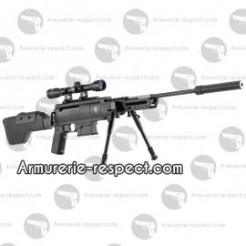Black Ops Sniper carabine à air comprimé 4.5 mm toute équipée