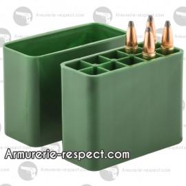 Boite Megaline de rangement 10 munitions 308 Win au 9.3x74