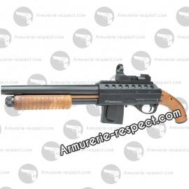 MOSSBERG  M500 Poignee Pistolet  avec Red Dot Factice 180 billes Energie 0,7 J. Max