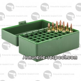 Boite Megaline de rangement 50 munitions 243 WIN