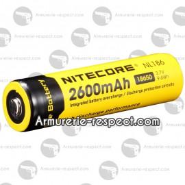 Accus Li-ion 18650 Nitecore 2600 mAh
