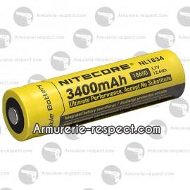Accu Li-ion 18650 Nitecore en 3400 mAh