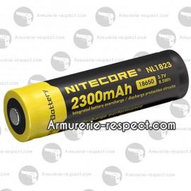 Accu Li-ion 18650 Nitecore en 2300 mAh