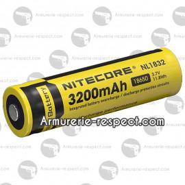 Accu Li-ion 18650 Nitecore en 3200 mAh