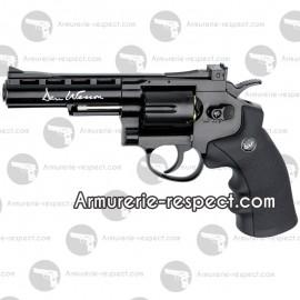 """Revolver Dan Wesson noir à billes d'acier 4"""""""