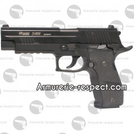 SIG SAUER X-FIVE Co2 metal 6mm culasse mobile 15 billes Energie 1 J. Max