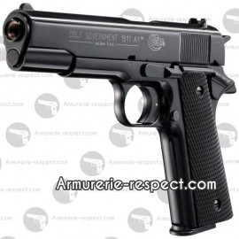 Colt Government 1911 A1 noir en 9 mm