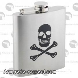 Flasque tête de mort Skull 180 ml