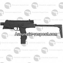 Pistolet mitrailleur MP9 au Co2 en 4.5 mm