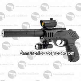 Pistolet à plombs Gamo P25 Tactical au Co2 en 4.5 mm