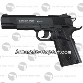 Pistolet Red Alert 1911 à billes d'acier 4.5 mm