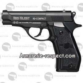Pistolet à billes d'acier Red Alert Compact en 4.5 mm