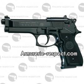Beretta 92 à plombs noir tout métal