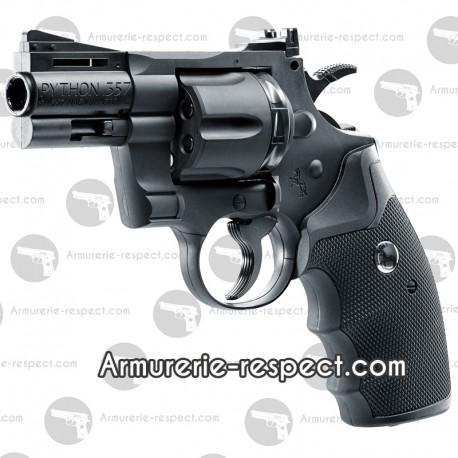 Colt Python 2,5 Black  UMAREX BB & Diabolos 4.5 mm a CO2 Colt Python 2,5 Black  UMAREX 4.5 mm