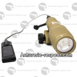 Lampe tactical NX600S Tan Nuprol 110 lumens