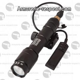 Lampe tactical NX600L Nuprol 110 lumens