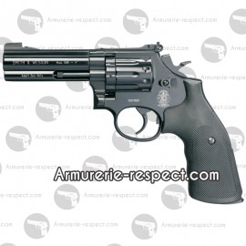 Smith & Wesson 586 noir 4 pouces revolver à plombs