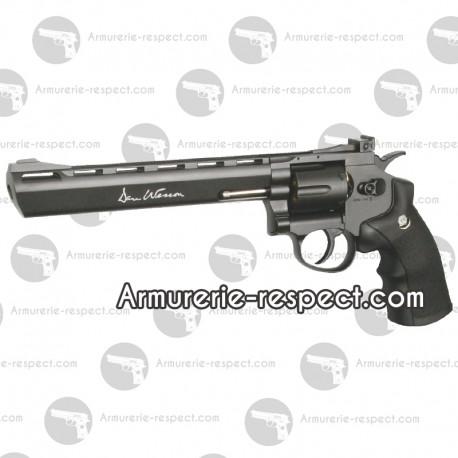 """Dan Wesson noir canon de 8"""" à billes d'acier 4.5 mm"""