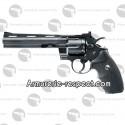 """Revolver Colt Python 6"""" noir à billes d'acier et plombs 4.5 mm"""