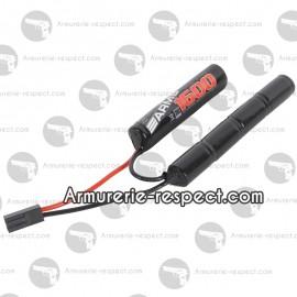 Batterie 1600 mAh 8.4V pour réplique airsoft
