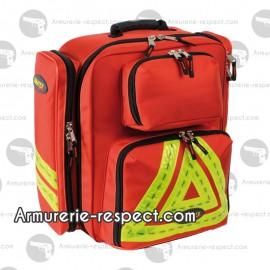 Sac médical d'intervention Reflex rouge 43 litres