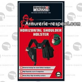 Holster d'épaule horizontal pour droitier Swiss Arms