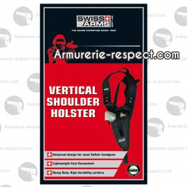Holster SWISS ARMS d'epaule vertical