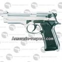 Pistolet d'alarme Beretta 92 nickel Chiappa 9 mm