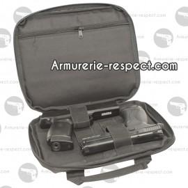 Housse de transport noire pour 2 armes de poing Swiss Arms