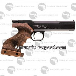 PISTOLET MATCH A AIR COMPRIME FAS6004 PISTOLET MATCH FAS6004 - CROSSE ANATOMIQUE MEDIUM DROITIER - 4.5 mm