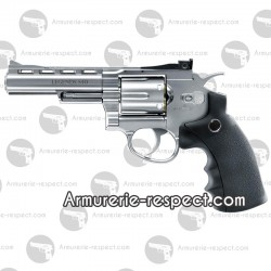 Revolver Umarex Legend 4 pouces chrome 4.5 mm