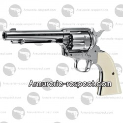 Pistolet Colt simple action Army 45 Nickele Pistolet Colt simple action Army 45 nickele