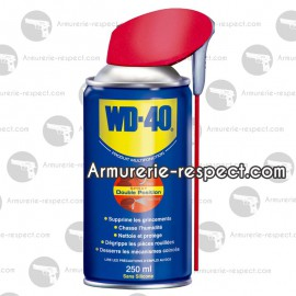 Spray 250 ml de WD40 avec 2 jets diffuseurs