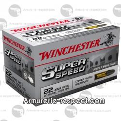 Cartouches 22 LR WINCHESTER SUPER SPEED 22 LR WINCHESTER SUPER SPEED BALLE PLEINE X 500