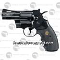 """Colt Python noir 2.5"""" revolver à billes d'acier tout métal [en rupture]"""