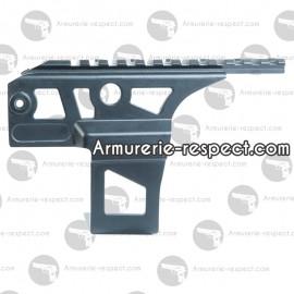 Rail de montage en 22 mm pour optique de tir pour AK47