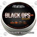 500 plombs Black Ops à tête pointue 4.5 mm