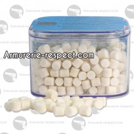 Boîte de 500 tampons de nettoyage pour calibre 4.5 mm