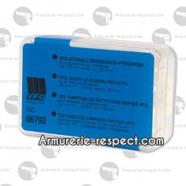 BOITES DE TAMPONS de nettoyage 4.5 mm Boite de 500 tampons