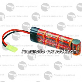 Batterie 1600mAh en 8.4V type mini