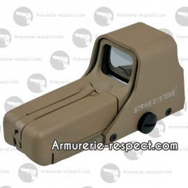 Viseur dot sight Tan advanced 552 rouge et vert