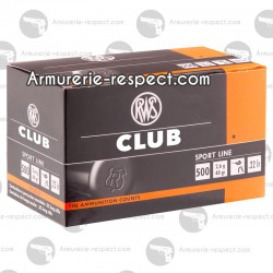 CARTOUCHES 22LR SPECIAL CLUB