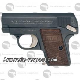 Colt 25 noir à propulsion spring