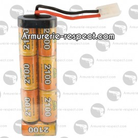 Batterie large  8,4 V  2100 mah