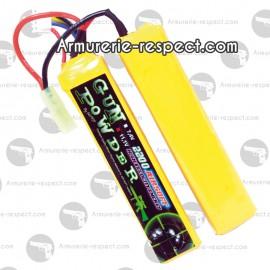 Batterie Lipo 2 batôns en 7.4V et 2200 mAh