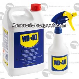 WD40 en bidon de 5 litres + Pulverisateur WD40 en bidon - 5 Litres