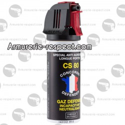 AEROSOLS GAZ CS 50 ml - CONCORDE DEFENDER